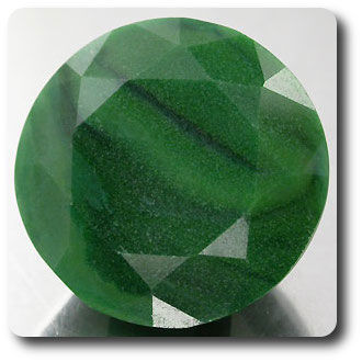 HUGE GRADE GREEN 10.71CT. NATURAL QUARTZ AFRICA