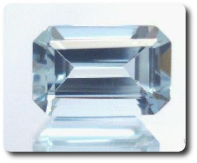 0.44ct  NATURAL BLUE AQUAMARINE AFRICA