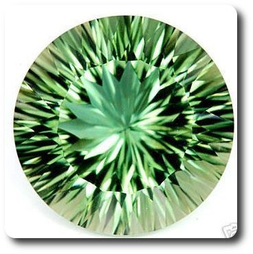 15.58ct  NATURAL GREEN AMETHYST BRAZIL