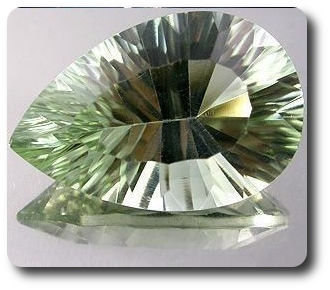 4.83ct  NATURAL GREEN AMETHYST BRAZIL