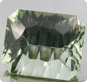 5.55ct  NATURAL GREEN AMETHYST BRAZIL