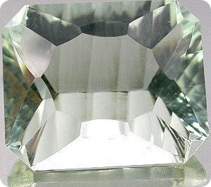 5.70ct  NATURAL GREEN AMETHYST BRAZIL