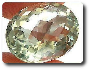 7.71ct  NATURAL GREEN AMETHYST BRAZIL