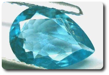1.15CT. NEON BLUE NATURAL APATITE AFRICA