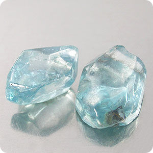 2p/7.71CT. AMAZING! BLUE NATURAL ZIRCON CRYSTAL