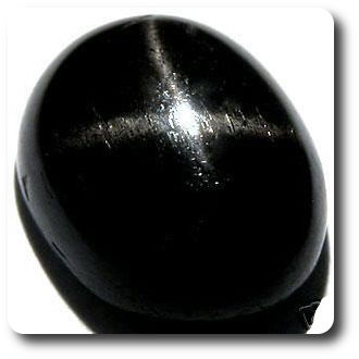 4.45ct  Natural Unheated Black Star Diopside India