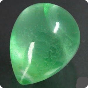 10.90CT.  Natural Green Fluorite Afghanistan