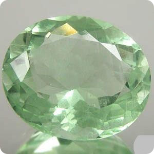 14.20CT.  Natural Green Fluorite Afghanistan