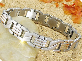 Cross Pattern HALLMARK Men Bracelet