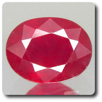 1.90ct   NATURAL  RED RUBY