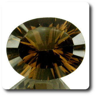 2.20CT. NATURAL SMOKY QUARTZ. VVS