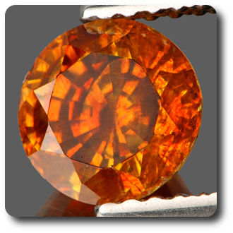 1.60 cts SPHALERITE ORANGE . IF