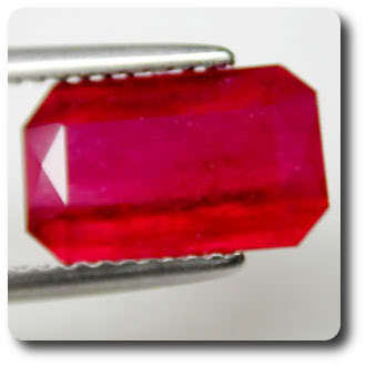 3.80CT.  BLOOD RED RUBY. VS