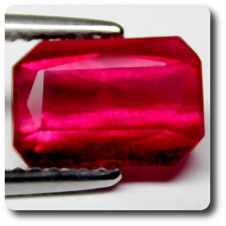 2.8 cts  RUBIS ROUGE SANG .VS