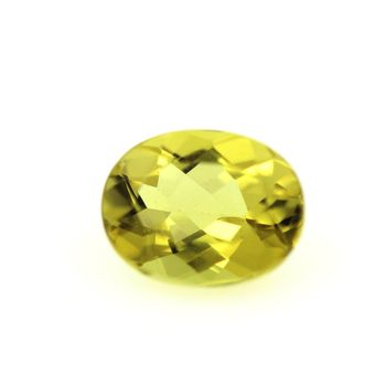 1.78CT. YELLOW GREEN BERYL . IF