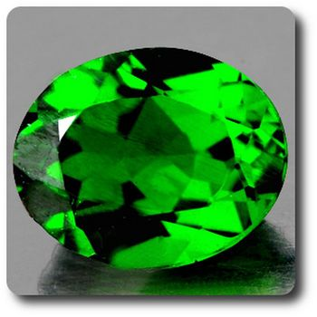 0.60 cts CHROME DIOPSIDE .IF