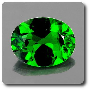 0.68 cts CHROME DIOPSIDE .IF