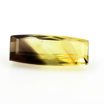 12.58CT. NATURAL BI COLOR CITRINE. VVS