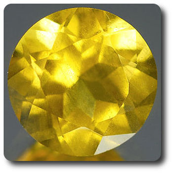 0.94CT. YELLOW BERYL . IF