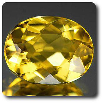 1.64CT. YELLOW BERYL . IF
