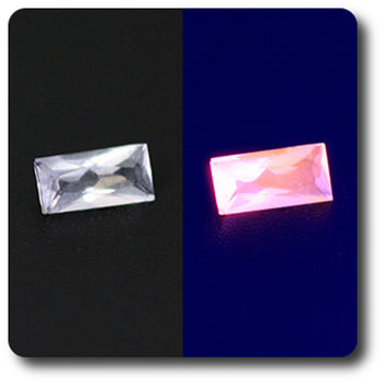 0.10 cts HACKMANITE UV COULEUR CHANGEANTE. IF