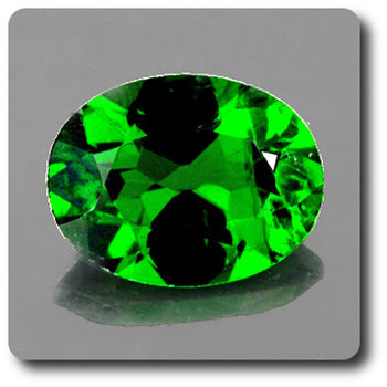 0.55 cts CHROME DIOPSIDE . VVS
