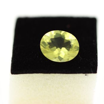 2.00CT. NATURAL YELLOW GREEN QUARTZ. IF