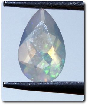 0.27CT.  NATURAL MULTICOLOR OPAL . IF