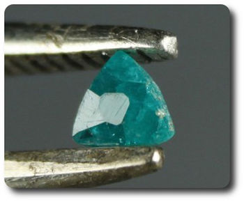 0.07 CTS. DIOPTASE