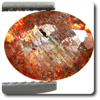 1.45CT. RED ANDESINE. VS