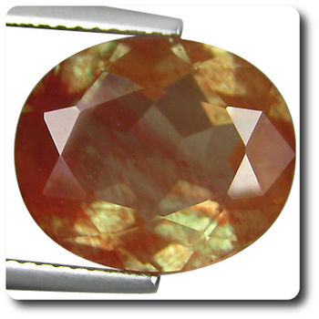 6.29 cts  ANDESINE ROUGE . VVS