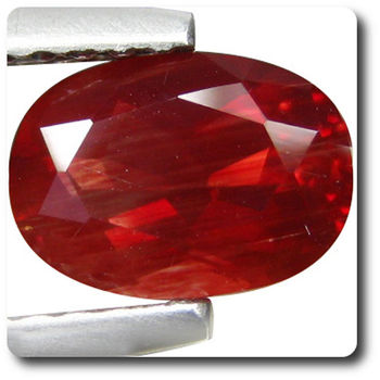 0.93 cts  ANDESINE ROUGE . VVS