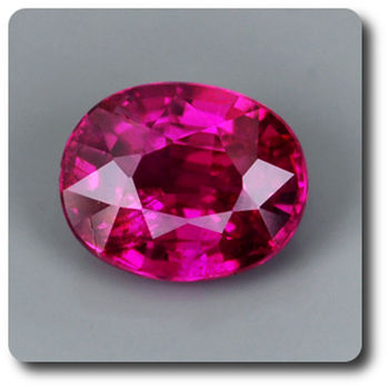 0.47CT.  RED RUBY. Unheated