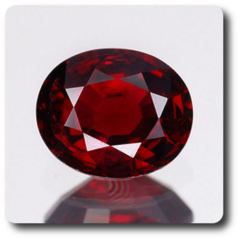 1.21CT.  RED  SPINEL . VS