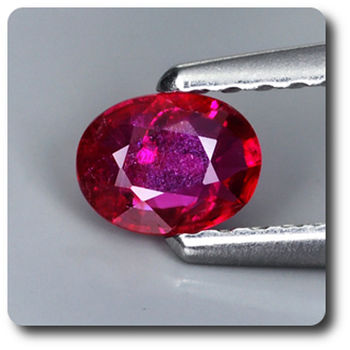 0.31 cts RUBIS ROUGE. NON CHAUFFE