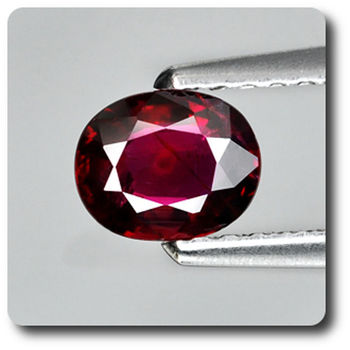 0.57CT.  RED RUBY. Unheated