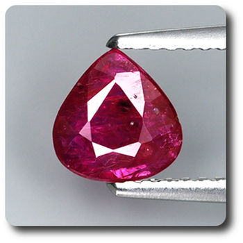 0.91CT.  RED RUBY. Unheated