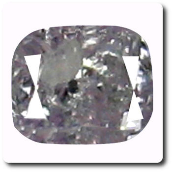 0.05 cts DIAMANT ROSE VIOLET  . I1