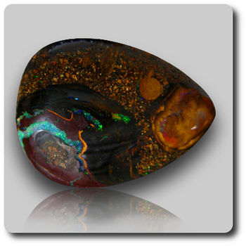 7.19 CT.  MATRIX BOULDER OPAL