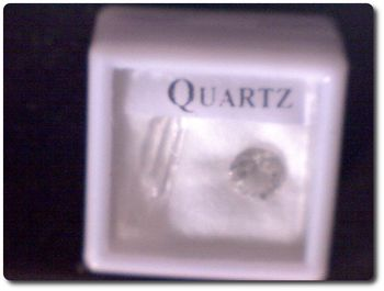 QUARTZ + QUARTZ CRYSTAL