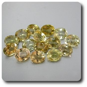 0.39 CT. LEMON GREEN TOURMALINE ( 1 piece )