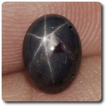 1.75 CT.  VIOLET RED STAR RUBY