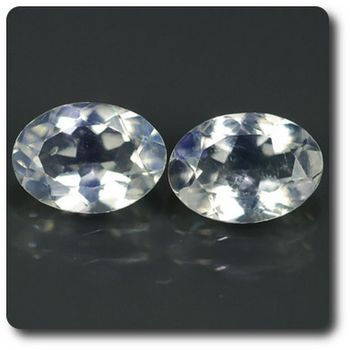 1.19 CT. 2 pcs. NATURAL MOONSTONE