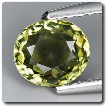 0.86 CT. GREEN TOURMALINE . VVS