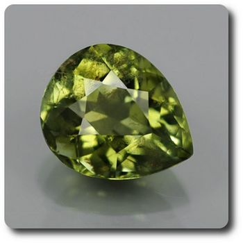 0.88 CT. GREEN TOURMALINE . SI2