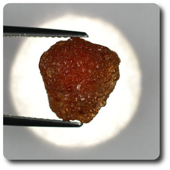 9.72 carats GRENAT HESSONITE