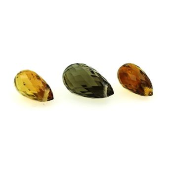 3.68 CT. 3 pcs. MULTICOLOR TOURMALINE