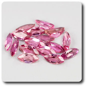 2.05 cts 16 pcs. TOURMALINE ROSE