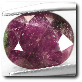5.83 CT.  RUBY ZOISITE ANYOLITE