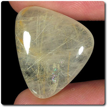 18.35 CT. NATURAL RUTILE QUARTZ